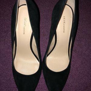 BCBG wedge heel pumps size 10